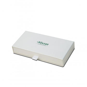White Hot-stamp Premium Sliding Drawer Bakery Boxes